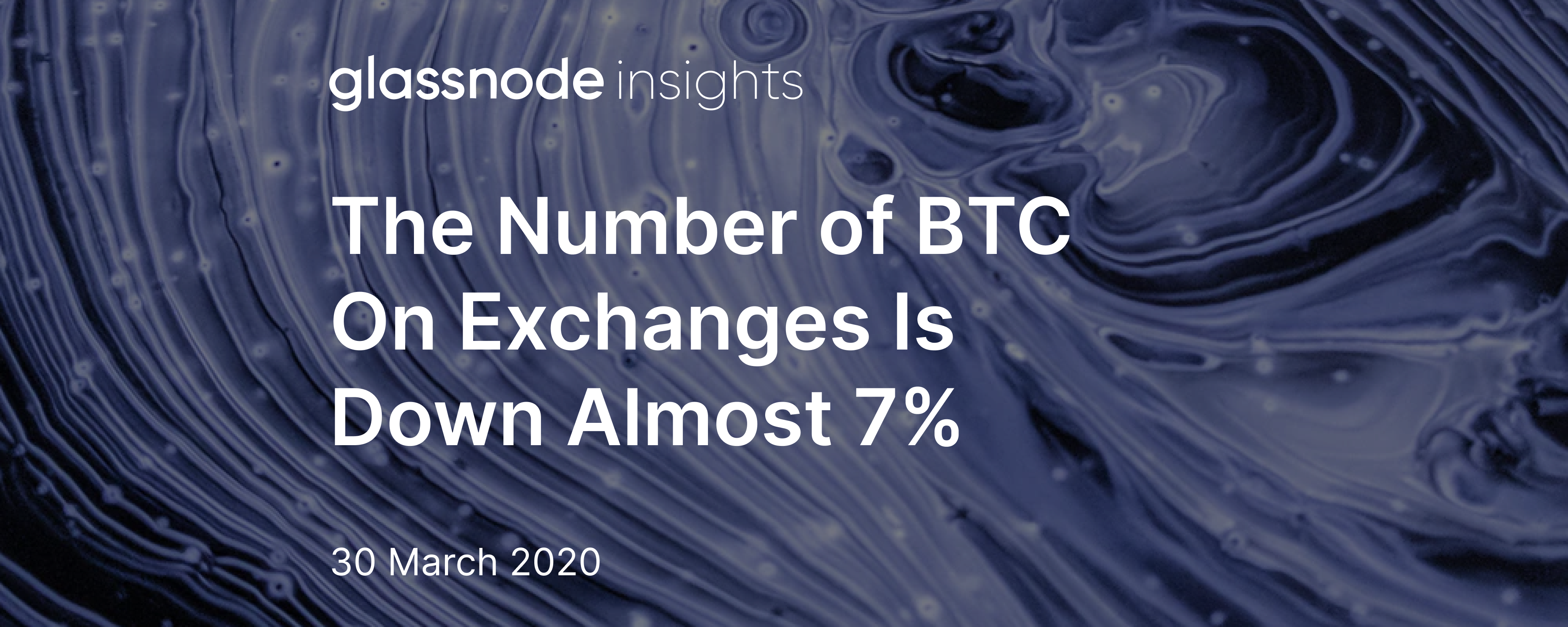 The Number of BTC On Exchanges Is Down Almost 7%