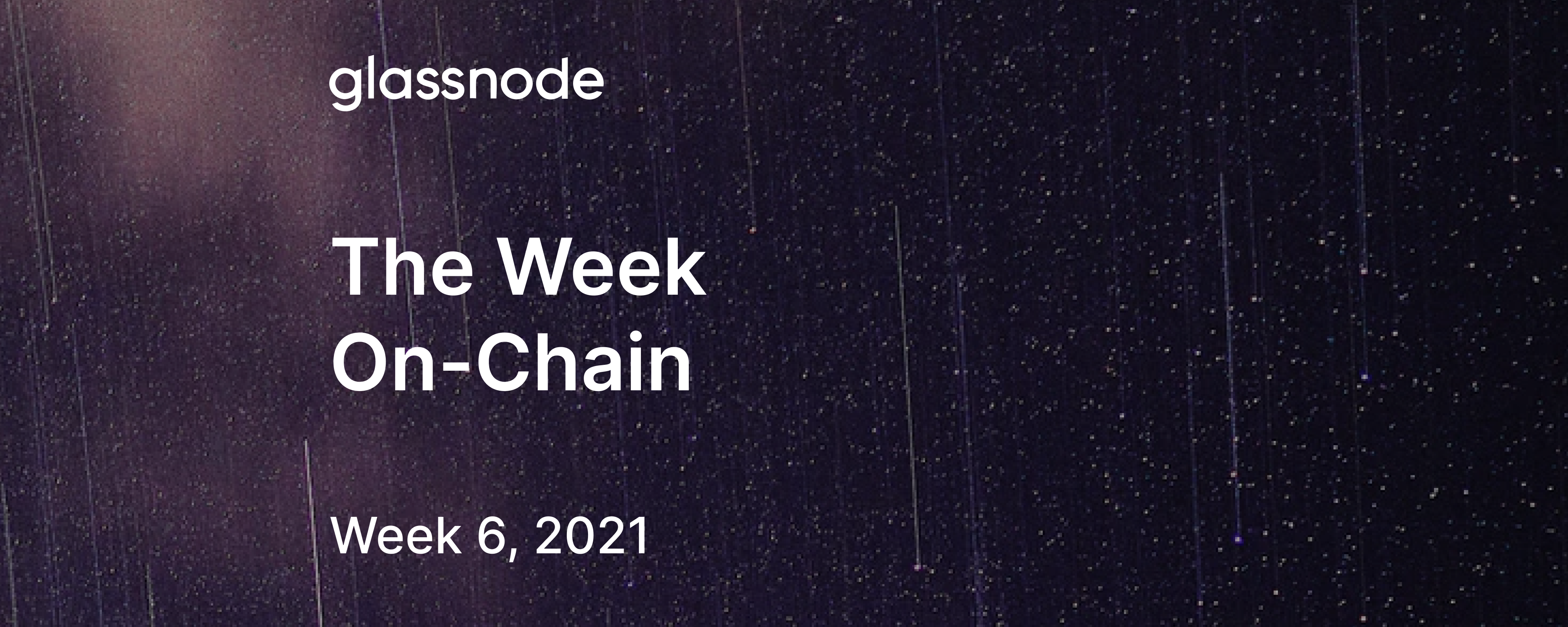 The Week On-Chain (Week 6, 2021)