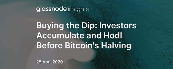 Buying the Dip: Investors Accumulate and Hodl Before Bitcoin's Halving