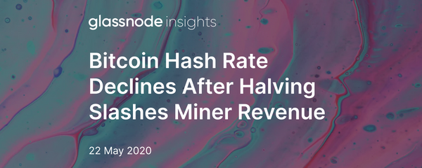 Bitcoin Hash Rate Declines After Halving Slashes Miner Revenue