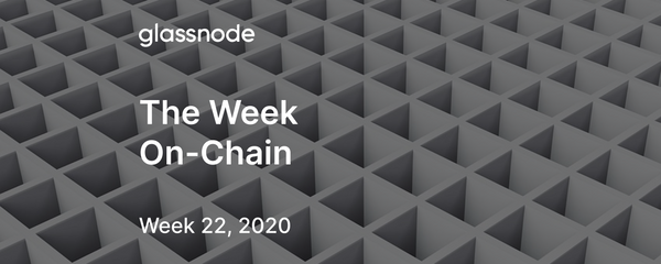 The Week On-Chain (Week 22, 2020)