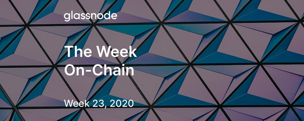 The Week On-Chain (Week 23, 2020)