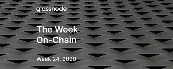 The Week On-Chain (Week 24, 2020)