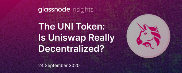 The UNI Token: Is Uniswap Really Decentralized?
