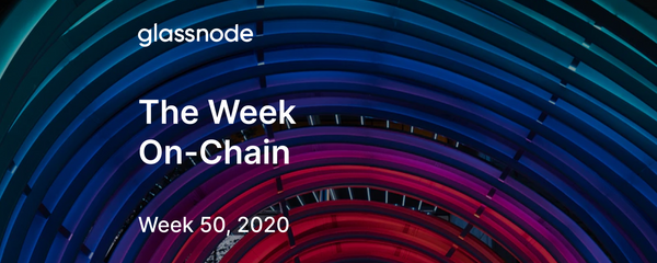 The Week On-Chain (Week 50, 2020)